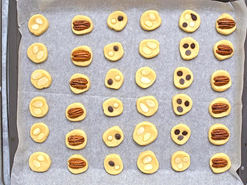 מגוון עוגיות - בצק אחד - מטבח לייט
